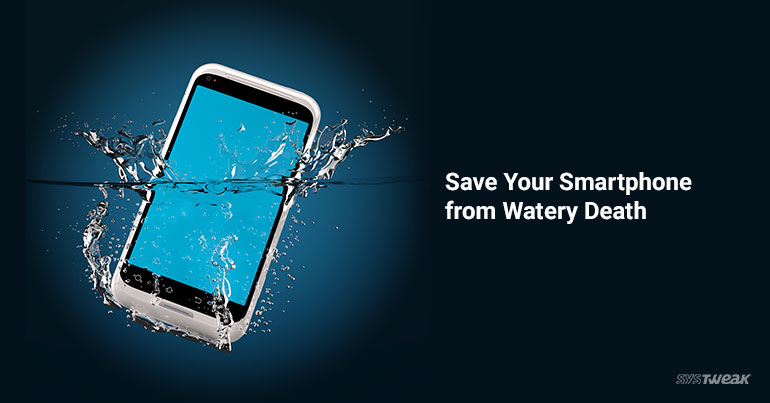 Wet Smartphone Fix Water Damaged Phone