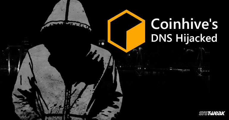 Latest In The Bulletin: Coinhive's DNS Hijacked
