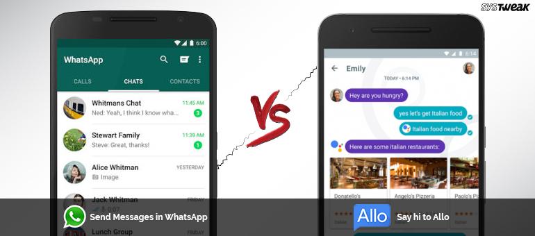 Ways How Google Allo Can Beat Whatsapp