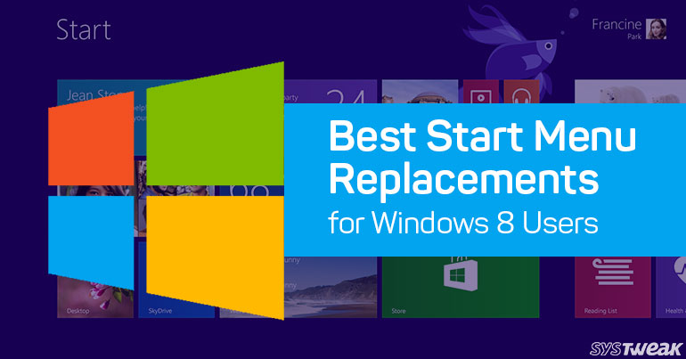 5 Free Start Menu Replacements For Windows 8 Users